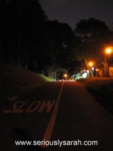 Tisch road night