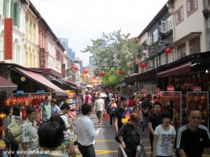 It's Chinatown!