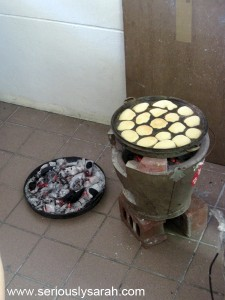 To cook a baulu