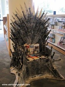 Iron throne?