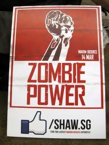 Zombie power!