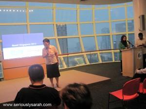 Staff presenting Read!SG!