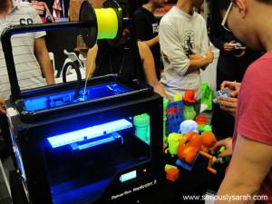 So many printers!