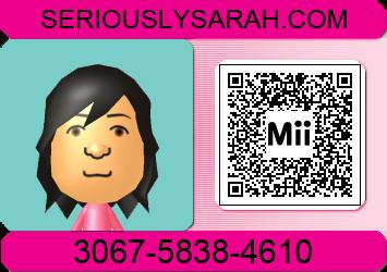 Mii friend code