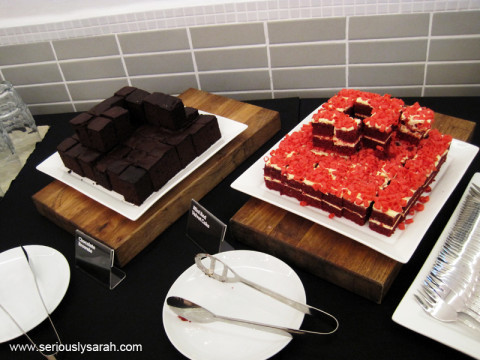 Brownies and red velvet!