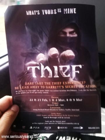 A flyer!