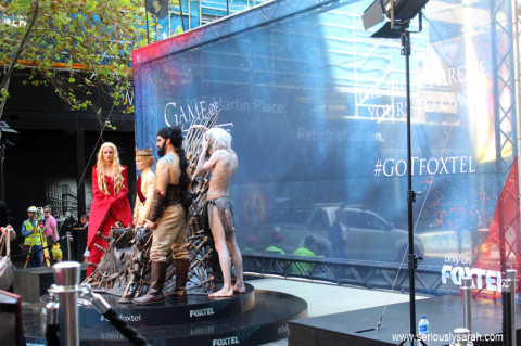 Game of Thrones at Martin Place?