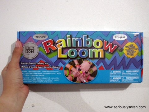 It's a Rainbow Loom.
