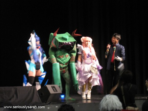 Cosplay competition!