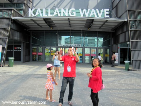 The Kallang Wave!