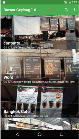 Geylang Bazaar app