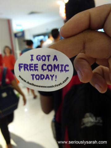 Free sticker!
