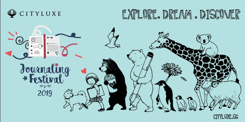 Journaling Festival poster