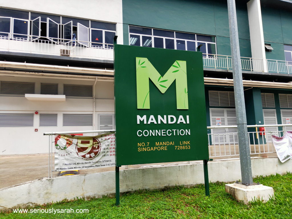 Sign at Mandai Connection
