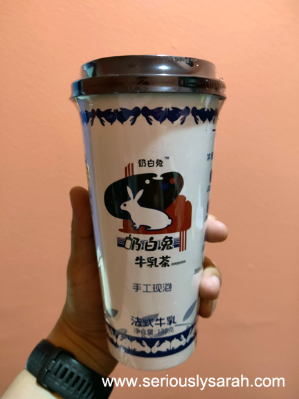 White Rabbit Milk Tea Cup